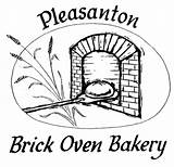 Oven Drawing Brick Bakery Getdrawings sketch template