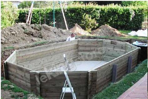 piscine bois nortland ubbink ocea allong 233 e en kit 610x400x130 cm lekingstore