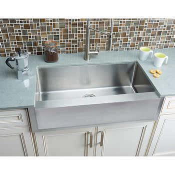 extra large farmhouse sink hahn chef series handmade extra large single bowl notched