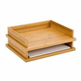 the container store lipper international inc bamboo With bamboo letter tray