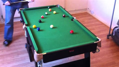 5 foot pool table snooker table folding 5ft bce riley black youtube