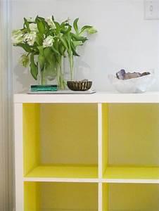 Kallax Regal Streichen : kallax ikea hack in neon yellow by panyl ikea hacks ~ Eleganceandgraceweddings.com Haus und Dekorationen