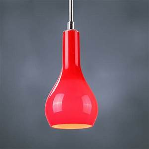 Red pendant light in any rooms midcityeast
