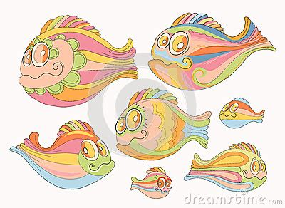 brightly colored fish of cheerful brightly colored fish stock