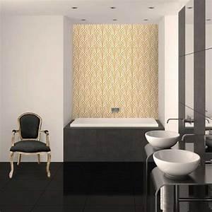 Baignoire Ilot Contre Mur : carrelage mur 60x120 cm niloka gatsby ~ Nature-et-papiers.com Idées de Décoration