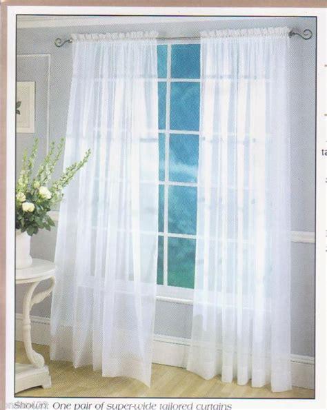 wide sheer curtains furniture ideas deltaangelgroup