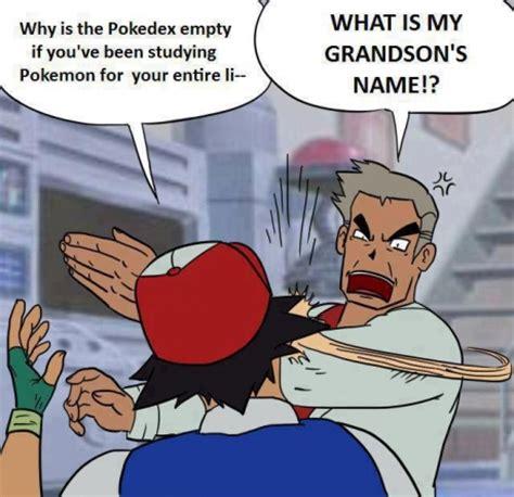 Pokemon Memes Professor Oak - pokemon logic