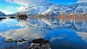 Landscape, Nature, Reflection, Mountain, Lake, Wallpapers