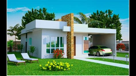 Single Storey Small House Design With 2 Bedrooms