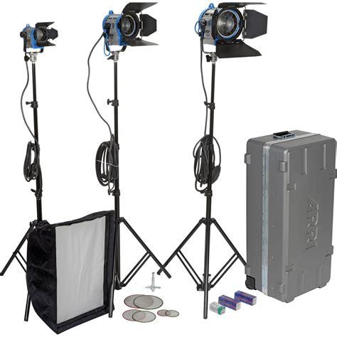 arri light kit arri softbank d1 three light kit lk 0005645 b h photo