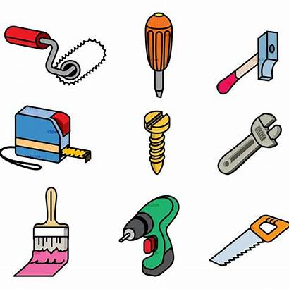 Tools Clip Clipart Tool Technology Cliparts Carpentry