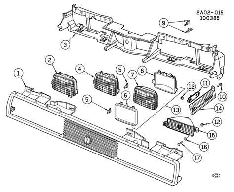 Gm Headl Wiring by 1982 2014 Gm Headlight Adjustment Clip Bracket
