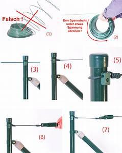 Maschendrahtzaun Richtig Spannen : zaun nagel montageanleitung maschendrahtzaun ~ A.2002-acura-tl-radio.info Haus und Dekorationen