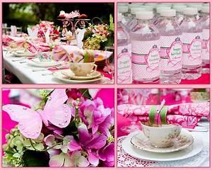 Kara's Party Ideas Girls 5th Birthday Princess Tea Party ...
