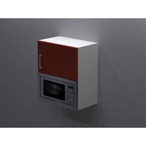 hauteur hotte cuisine meuble haut pour micro onde ensatrable