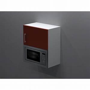 meuble haut pour micro onde ensatrable With meuble de cuisine pour micro ondes