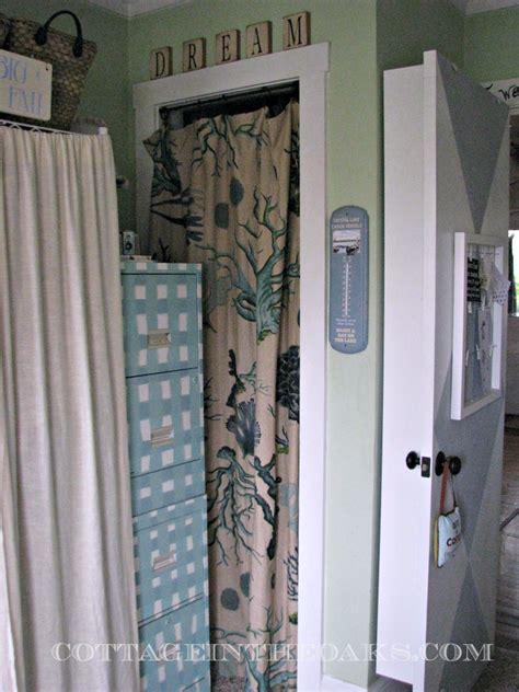 Ready Made Curtains {using Curtains As Doors}