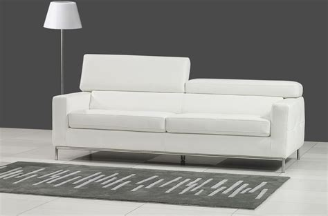 rachat ancien canapé canape en cuir blanc maison design wiblia com