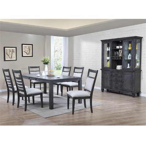 East Lane 7 Piece Dining Room Table With 6 Side Chairs