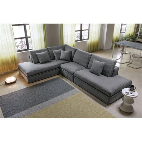 refaire un canapé d angle canapé d 39 angle italien tissu santa