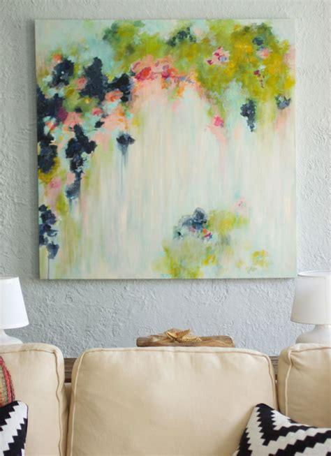 canvas painting ideas  diy abstract art  fox