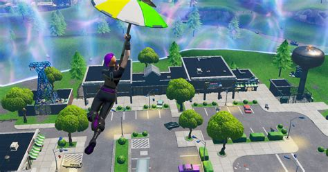 fortnite patch  brings  retail row reduces mech