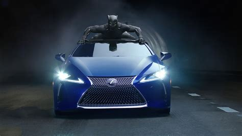 Black Panther Lexus Lc 500 2018 Wallpapers Hd Wallpapers