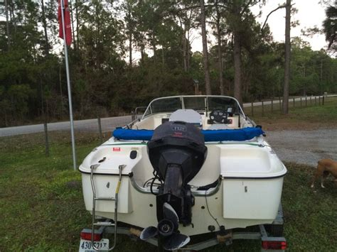 Used Fish And Ski Boats With Outboard Motors by 1996 Sunbird Fish Ski Boat With 112 Johnson Outboard