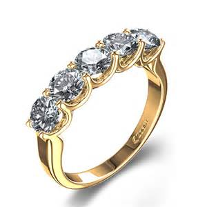 average price of an engagement ring five 1 6 ctw wedding ring in 14k yellow gold australia
