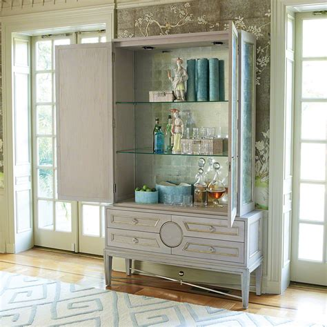 kitchen cabinet decals global views products collectors cabinet grey top only 2450