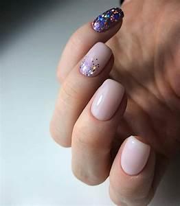 128 light color square acrylic nails designs