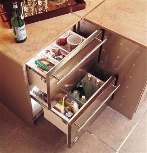 zidshss monogram double drawer refrigerator module stainless steel