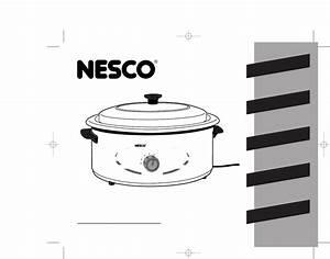 User Manual Nesco Roaster Oven 4816
