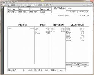 free check stub template lisamaurodesign With template for payroll check stub