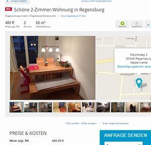 Ein Zimmer Wohnung Regensburg : sch ne 2 zimmer wohnung in regensburg steyrerweg 3 93049 regensburg ~ Watch28wear.com Haus und Dekorationen