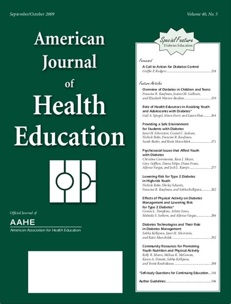 american journal  health education