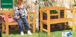 Kinder Gartenbank Holz : gardenline kinder gartenbank von aldi s d ansehen ~ Whattoseeinmadrid.com Haus und Dekorationen