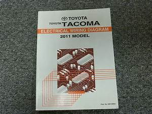 2011 Toyota Tacoma Electrical Wiring Diagram Manual