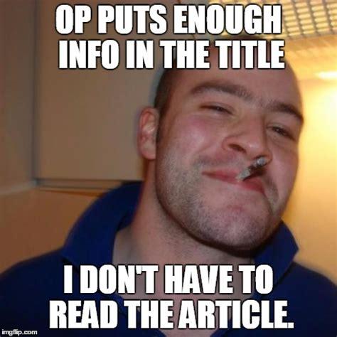 Op Meme - good guy op imgflip