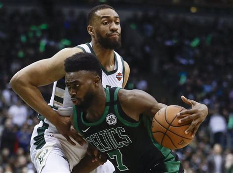 Boston Celtics news: Jaylen Brown was fouled on late drive ...
