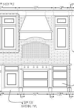 Kitchen Cad Block Autocad Drawings