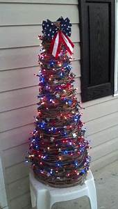 1000 images about Decorated Patriotic Christmas tree on
