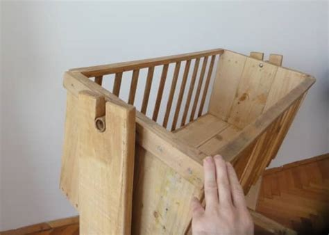 cradle  pallet wood recycled ideas recyclart