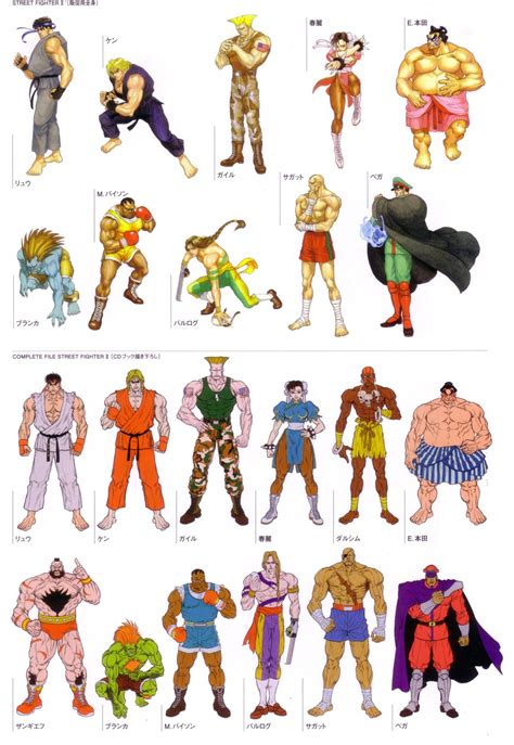 Street Fighter Character Design Street Fighter Street