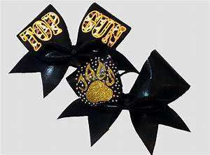 Top Gun Bow COMBO | Cheer bows | Pinterest