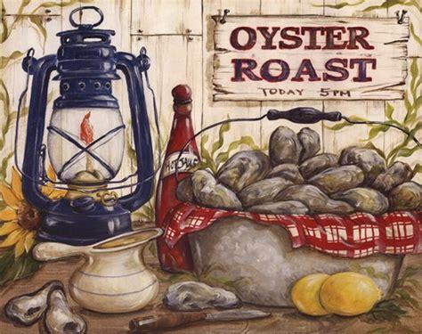 oyster roast fine art print  kate mcrostie