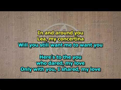 Toto  Lea (karaoke) Youtube