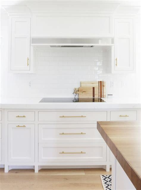 brushed nickel rectangular cabinet pulls for cool kitchen cabinet drawer handles 8 best hardware styles for shaker cabinets