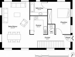 superieur plan maison demi niveau 4 chambres 4 plan With maison demi niveau plan