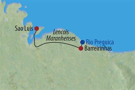 brasilien  tage natur erleben lencois maranhenses